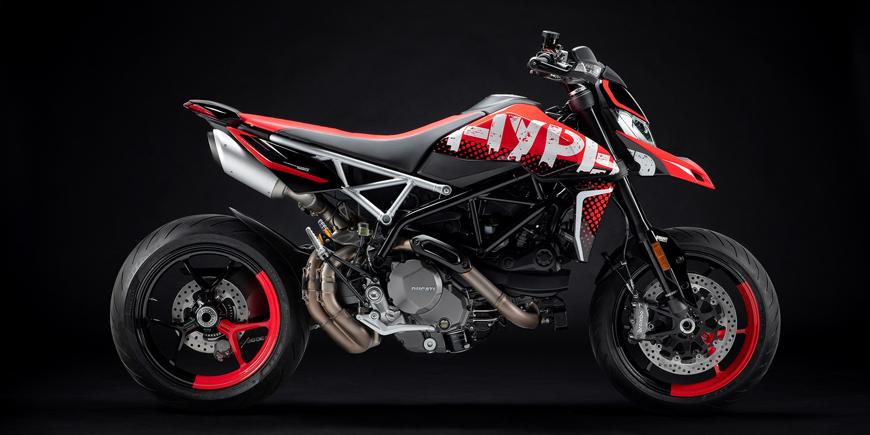 Pekelná bestie i praktický stroj od Ducati