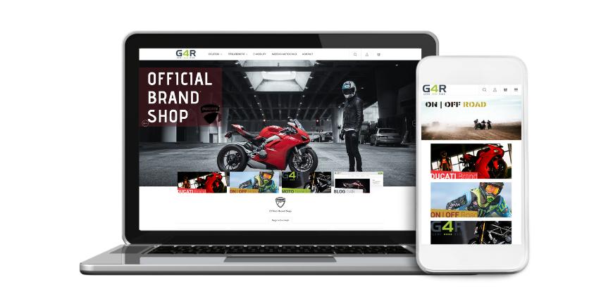 Spouštíme nový e-shop G4R